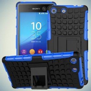 Противоударный защитный чехол для Sony Xperia M5 - Синий