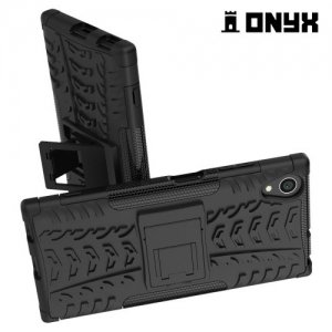 Противоударный защитный чехол для Sony Xperia XA1 Plus - Черный
