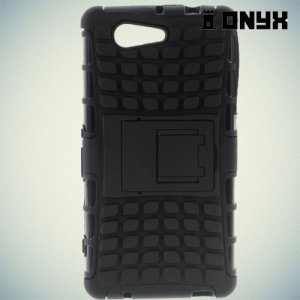 Противоударный защитный чехол для Sony Xperia Z3 Compact D5803 - Черный