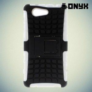 Противоударный защитный чехол для Sony Xperia Z3 Compact D5803 - Белый
