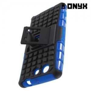 Противоударный защитный чехол для Sony Xperia Z3 Compact D5803 - Синий