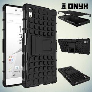 Противоударный защитный чехол для Sony Xperia Z5 - Черный