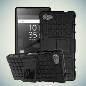 Противоударный защитный чехол для Sony Xperia Z5 Compact E5823 - Черный