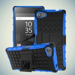 Противоударный защитный чехол для Sony Xperia Z5 Compact E5823 - Синий