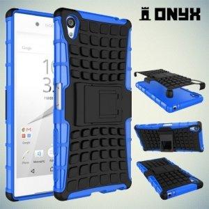 Противоударный защитный чехол для Sony Xperia Z5 Premium - Синий
