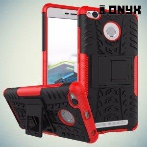 Противоударный защитный чехол для Xiaomi Redmi 3s / 3x / 3 pro - Красный