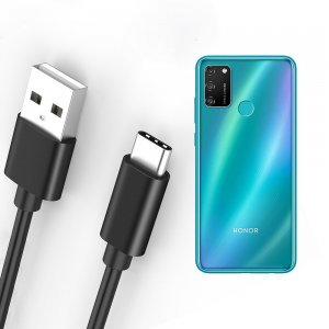 Провод кабель для Huawei Honor 9A зарядки подключения к компьютеру