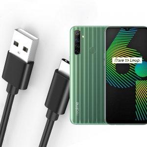 Провод кабель для Realme 6i зарядки подключения к компьютеру
