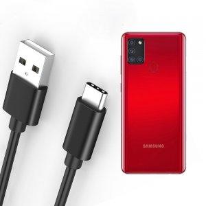 Провод кабель для Samsung Galaxy A21s зарядки подключения к компьютеру