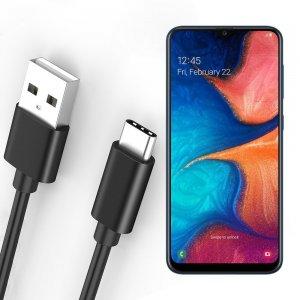 Провод кабель для Samsung Galaxy A30 / A20 зарядки подключения к компьютеру