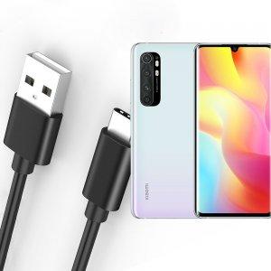 Провод кабель для Xiaomi Mi Note 10 Lite зарядки подключения к компьютеру