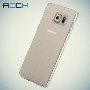 Прозрачный чехол ROCK Pure для Samsung Galaxy S6 Edge Plus - Прозрачный