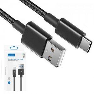 Mobilak кабель для быстрой зарядки USB Type-C 3А – Черный