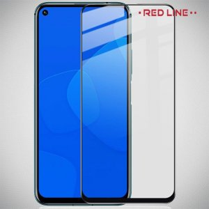 Red Line 3D Full Glue стекло для Huawei Honor 20 / 20 Pro / Nova 5T с полным клеевым слоем - Черная рамка