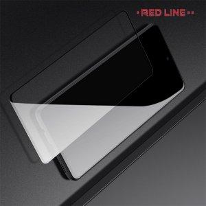 Red Line 3D Full Glue стекло для Samsung Galaxy Note 10 Lite с полным клеевым слоем - Черная рамка