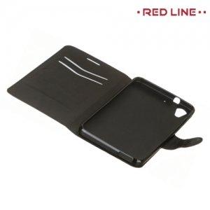 Red Line чехол книжка для HTC Desire 728, 728G Dual SIM  - Черный