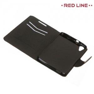 Red Line чехол книжка для HTC Desire 828, 828G Dual SIM  - Черный