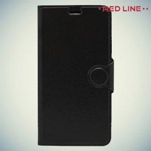 Red Line чехол книжка для Huawei GR3 - Черный