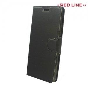 Red Line чехол книжка для Huawei Honor 6C - Черный