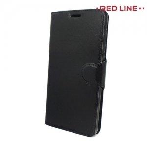 Red Line чехол книжка для Huawei Honor 7X - Черный