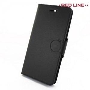 Red Line чехол книжка для Huawei Honor 8 Pro - Черный