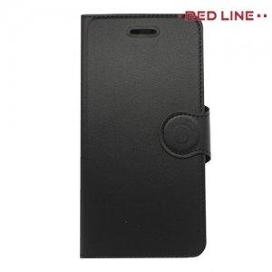 Red Line чехол книжка для Huawei Honor 9 - Черный