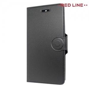 Red Line чехол книжка для Huawei Nova 2i - Черный