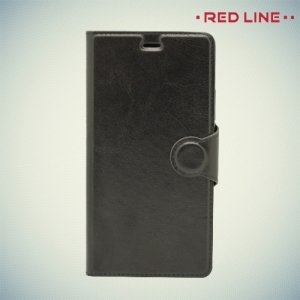 Red Line чехол книжка для Huawei P9 lite - Черный