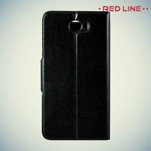Red Line чехол книжка для Huawei Y5 II / Honor 5A - Черный