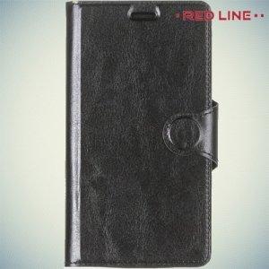 Red Line чехол книжка для LG G4s H736 - Черный