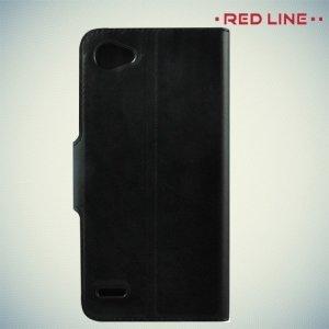 Red Line чехол книжка для LG Q6 M700AN / Q6a M700 - Черный