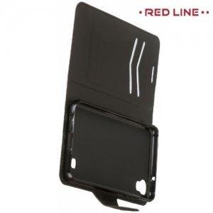 Red Line чехол книжка для LG X Power - Черный