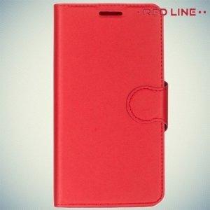 Red Line чехол книжка для LG X Power - Красный