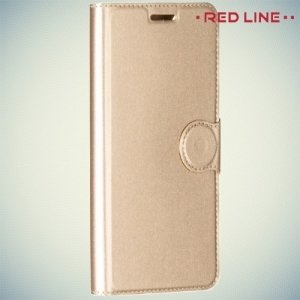 Red Line чехол книжка для LG X Power K220DS - Золотой