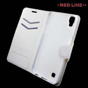 Red Line чехол книжка для LG X Power K220DS - Белый
