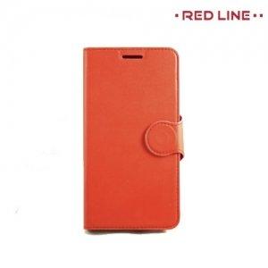 Red Line чехол книжка для Meizu m3s mini - Красный