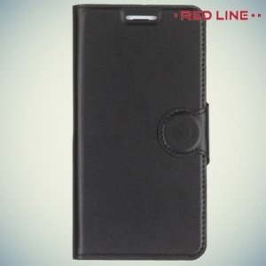 Red Line чехол книжка для Meizu m3s mini / m3 mini - Черный
