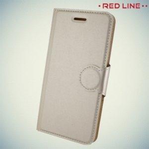 Red Line чехол книжка для Meizu M5 - Золотой