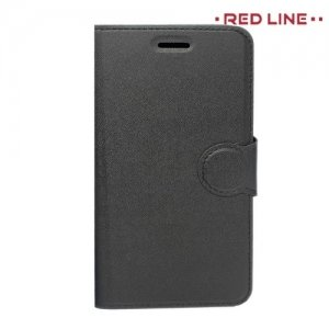 Red Line чехол книжка для Meizu M5 Note - Черный