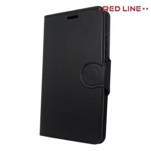 Red Line чехол книжка для Meizu M5c - Черный