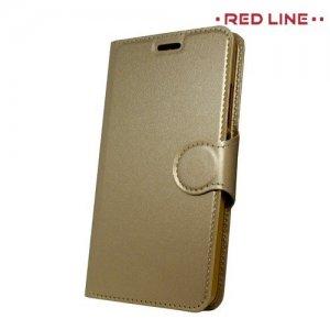 Red Line чехол книжка для Meizu M5c - Золотой