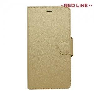 Red Line чехол книжка для Nokia 2 - Золотой