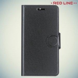 Red Line чехол книжка для Nokia 6 - Черный