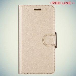 Red Line чехол книжка для Nokia 6 - Золотой