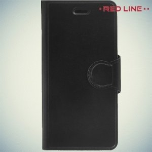 Red Line чехол книжка для Samsung Galaxy A3 2016 SM-A310F - Черный