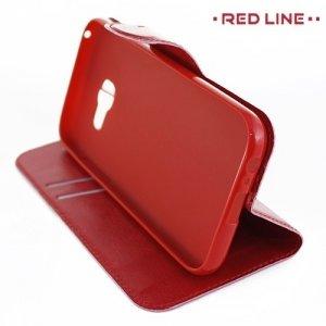 Red Line чехол книжка для Samsung Galaxy A3 2017 SM-A320F - Красный