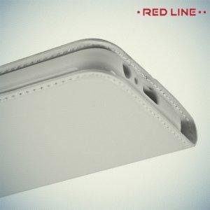 Red Line чехол книжка для Samsung Galaxy A3 2017 SM-A320F - Белый