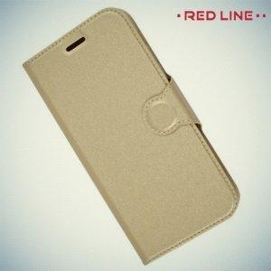 Red Line чехол книжка для Samsung Galaxy A5 2017 SM-A520F - Золотой