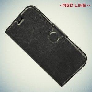 Red Line чехол книжка для Samsung Galaxy A5 2017 SM-A520F - Черный