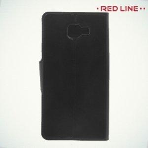 Red Line чехол книжка для Samsung Galaxy A7 2016 SM-A710F - Черный